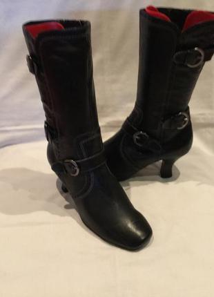 Ботинки *bellissima* кожа германия р.36.5 ( 23.80 см)
