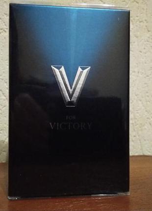 Туалетная вода avon v for victory (75 мл)