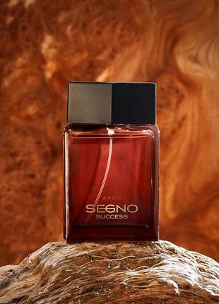 Новинка. парфюмерная вода avon segno success для него 75 ml