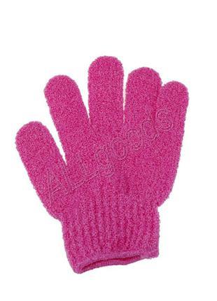 Перчатка мочалка для пилинга тела 1 шт