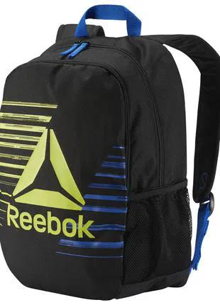 Рюкзак Reebok Kids Foundation Backpack Black Оригинал Городской с