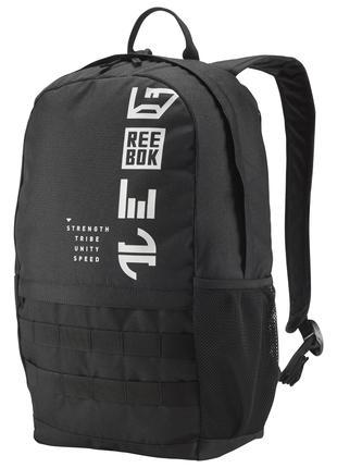Рюкзак Reebok Rebelz Backpack Black Оригинал Городской спортивный