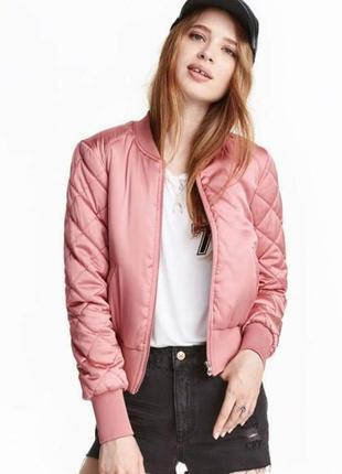 Нова куртка-бомбер h&m, сток з німецького магазину. акційна ціна