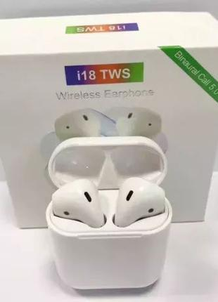 New 2019 Беспроводные наушники i18-TWS Bluetooth 5.0