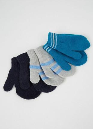 Набор рукавичек george, варежки детские george
