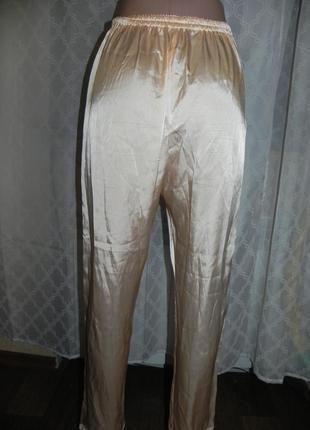 Распродажа брюки пижамные / домашние 46р