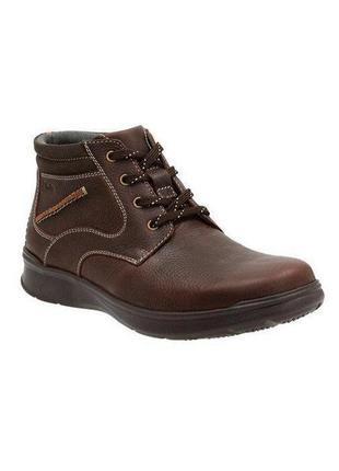 Clarks ●28,5/29см● мужские кожаные демисезонные ботинки. ориги...