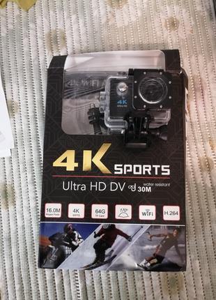 Экшен камера +карта памяти 64gb