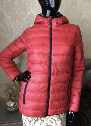 Куртка спорт красная ovs, размер с