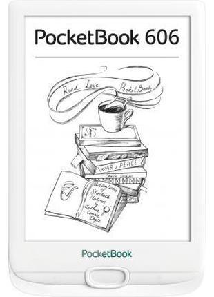 Электронная книга Pocketbook 606, White (PB606-D-CIS)