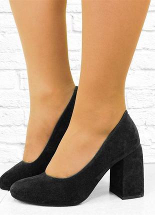 Женские туфли nine черные