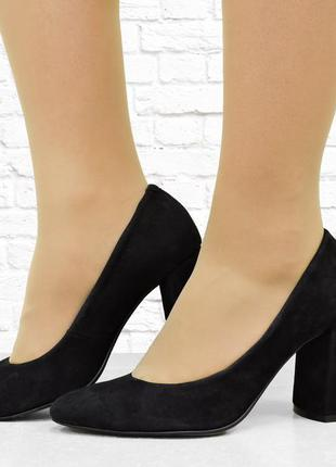 """Женские туфли """"8th"""" черные"""