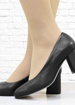 """Женские туфли """"six"""" черные"""
