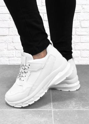 Женские кроссовки strong. белые.