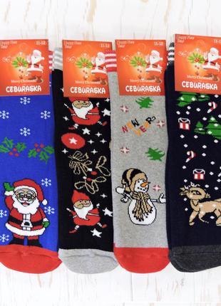 Теплые носки для мальчика snow. микс.