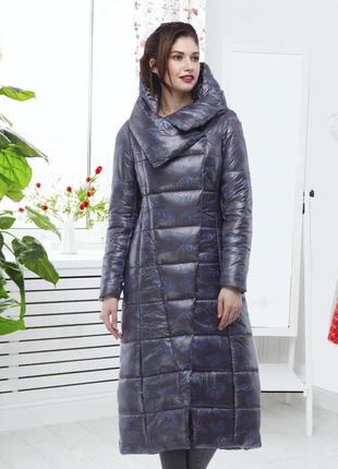 Зимнее пальто comme il faut  черное