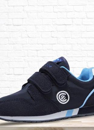 Детские кроссовки tex. синие.