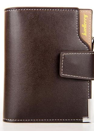 Мужской кошелек baellerry business mini коричневый