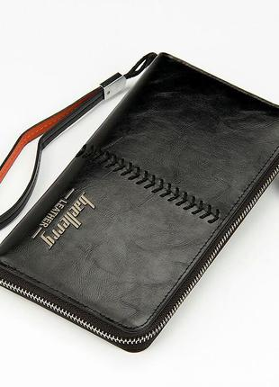 Портмоне baellerry leather black