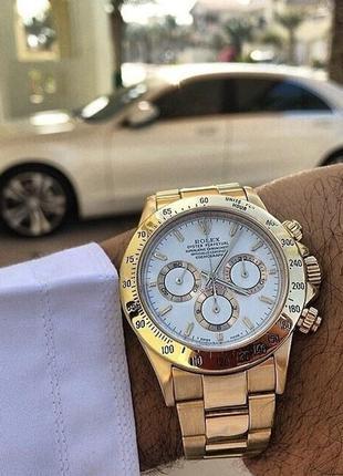 Наручные часы gold ( white )