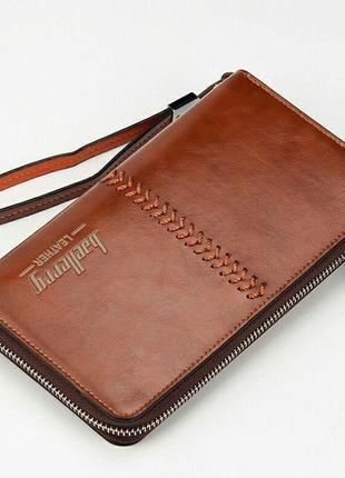 Портмоне baellerry leather brown