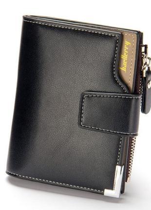 Мужской кошелек baellerry business mini black