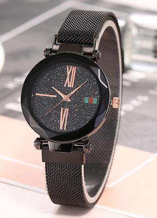 Женские наручные часы starry sky watch black