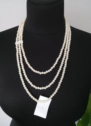 Ожерелье колье из жемчуга