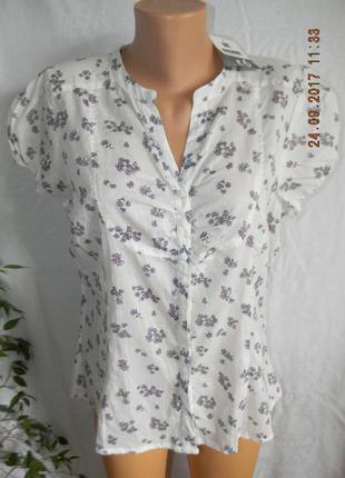 Тонкая новая легкая блуза editions