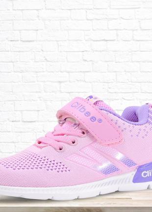Детские кроссовки purpure, розовые