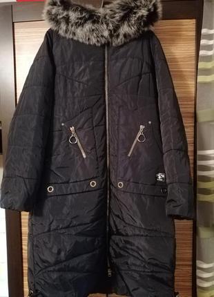 Зимнее пальто vart original большого размера