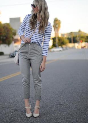 Укороченные брюки чинос