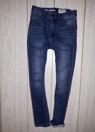 Мягкие джинсы супер скины next на 10 лет 2017г
