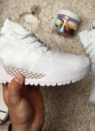 """Женские кроссовки adidas af 1.4 primeknit """"white"""""""