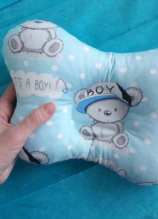 Ортопедическая подушка из сатина