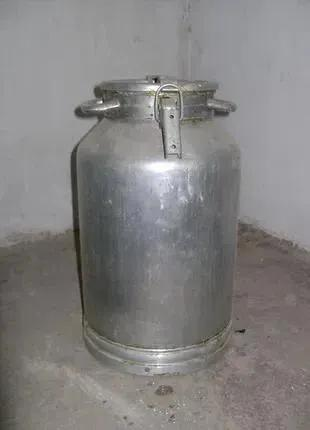 Бидон алюминиевый 25 литров СССР