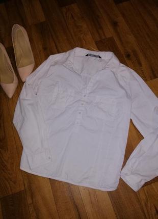 Белая рубашка от zara