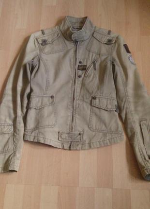Легкая куртка ветровка бомбер в стиле милитари resist r-star r...