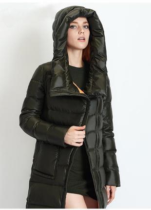 Miegofce пуховик длинный/пальто/куртка