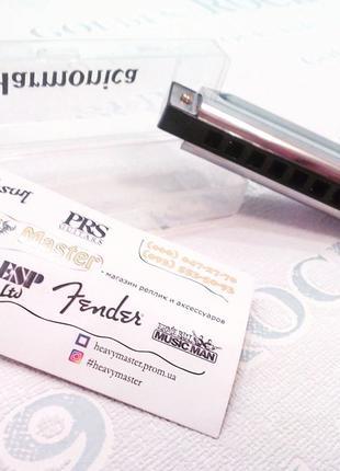 Гармонь губная гармошка harmonica на 10 отверстий Подробнее: http