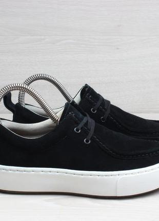 Замшевые женские туфли / мокасины clarks originals, размер 35 ...