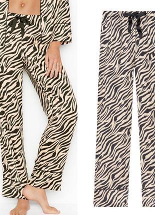 Штаны пижамные сатин штанишки атлас виктория сикрет victoria's...