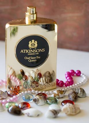 Atkinsons  Oud Save The Queen_Оригинал Eau de Parfum 5 мл