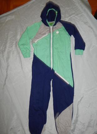 Пижама человечек на мальчика 5 лет 110см vossatassar
