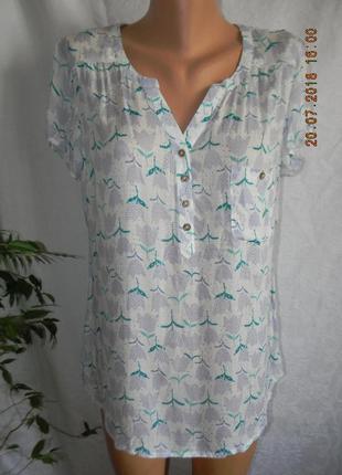 Легкая новая вискозная блуза