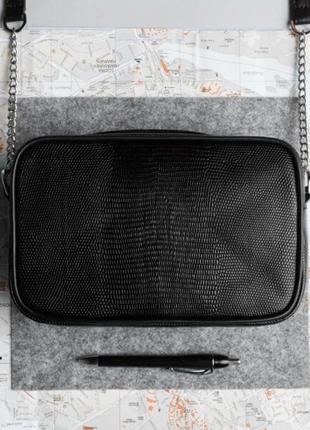 Женская сумка // emily // black