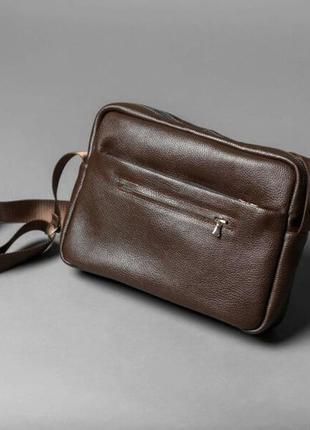 Наплечная сумка // reporter // brown