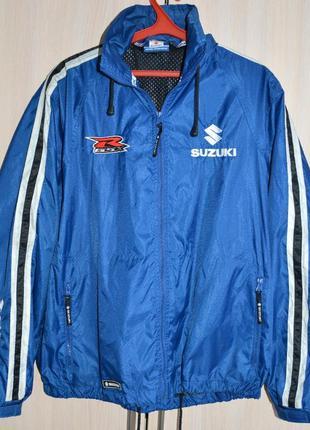 Куртка-ветровка suzuki® original l б/у we68