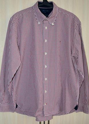 Рубашка tommy hilfiger® original xl б.у. y1p8-5