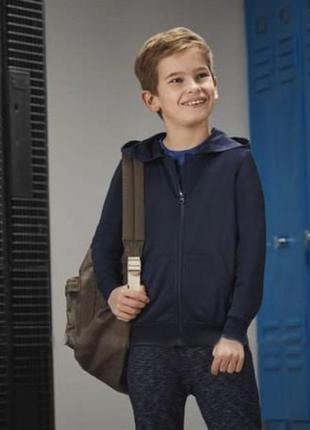 Легкая спортивная кофта с начесом для мальчика р. 134 140 criv...